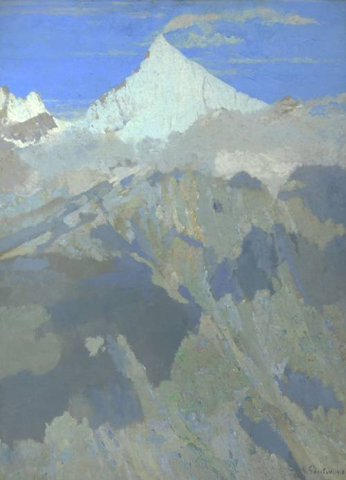 Photograph of the work of art: The Weisshorn