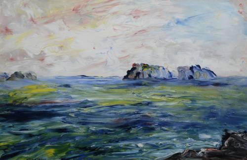 Photograph of the work of art: Off the Irish Coast