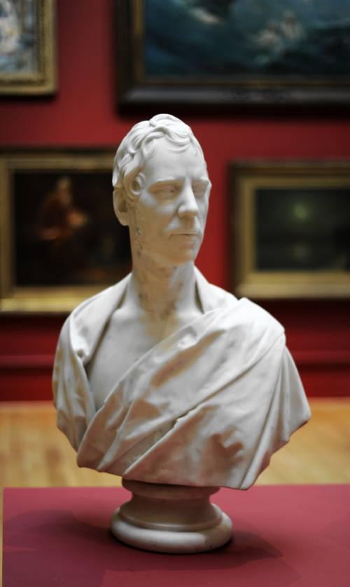 Photograph of the work of art: Bust of John Deakin Heaton