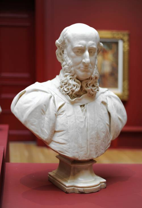Photograph of the work of art: Bust of James Kitson
