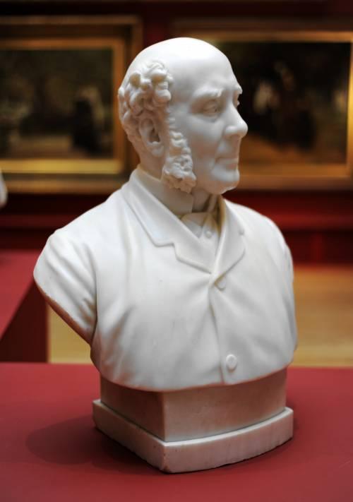 Photograph of the work of art: Bust of John Barran