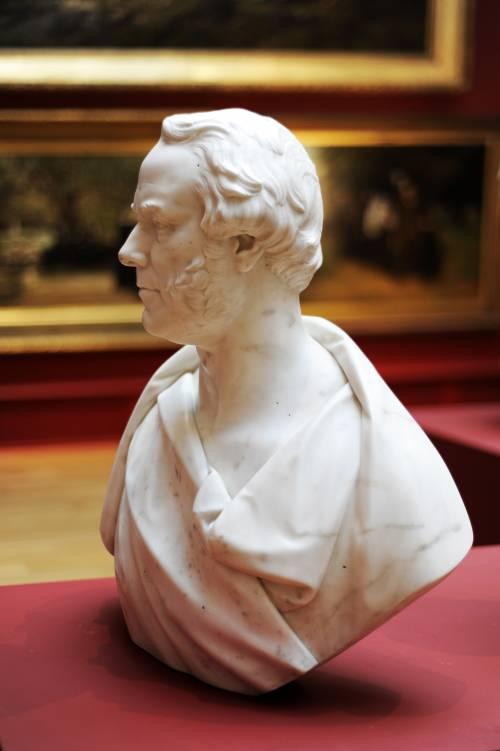 Photograph of the work of art: Bust of Sir Peter Fairbairn