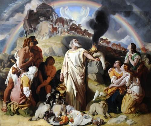 Photograph of the work of art: Noah's Sacrifice