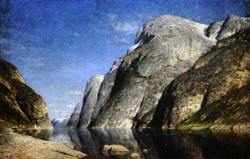 Photograph of the work of art: The Sognefjord, Norway