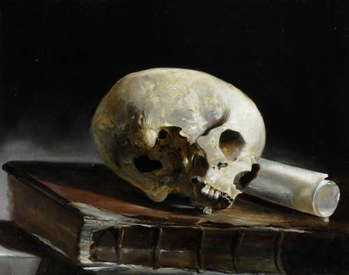 Photograph of the work of art: Study of a Skull