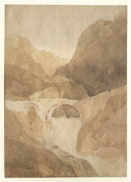 Photograph of the work of art: Pont Aberglaslyn, North Wales