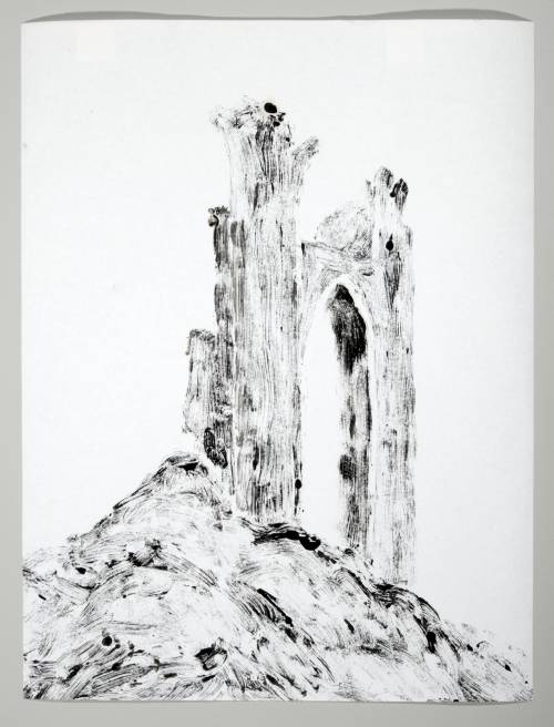 Photograph of the work of art: Castle Ruin 1