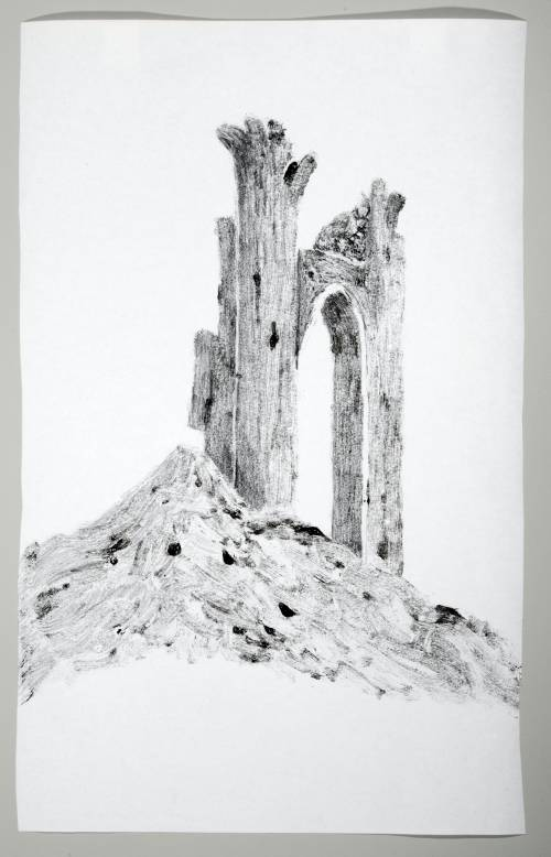Photograph of the work of art: Castle Ruin 3
